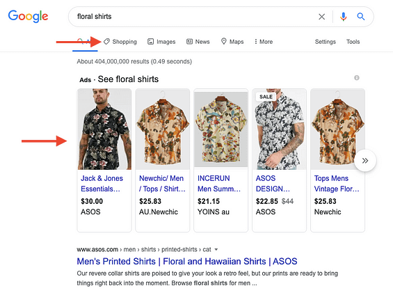 What is Google Shopping?